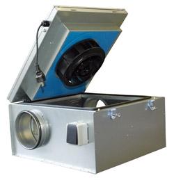 Центробежные вентиляторы в шумоизолированном корпусе KVKE