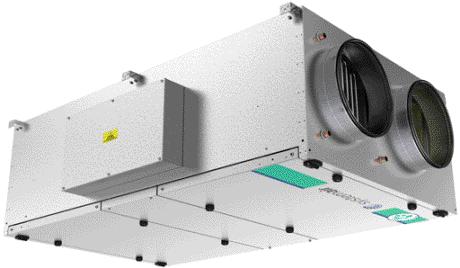 Новый Topvex FR в плоском корпусе с роторным рекуператором
